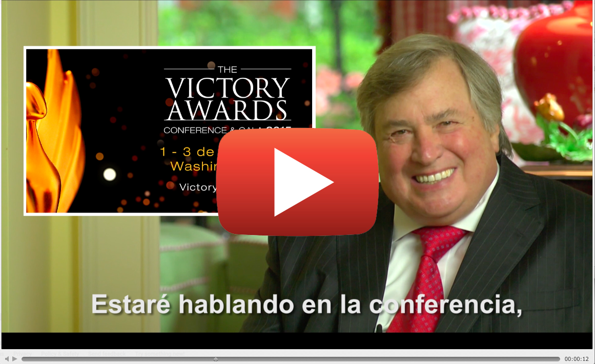 Invitación de Dick Morris a The Victory Awards Conference 2015