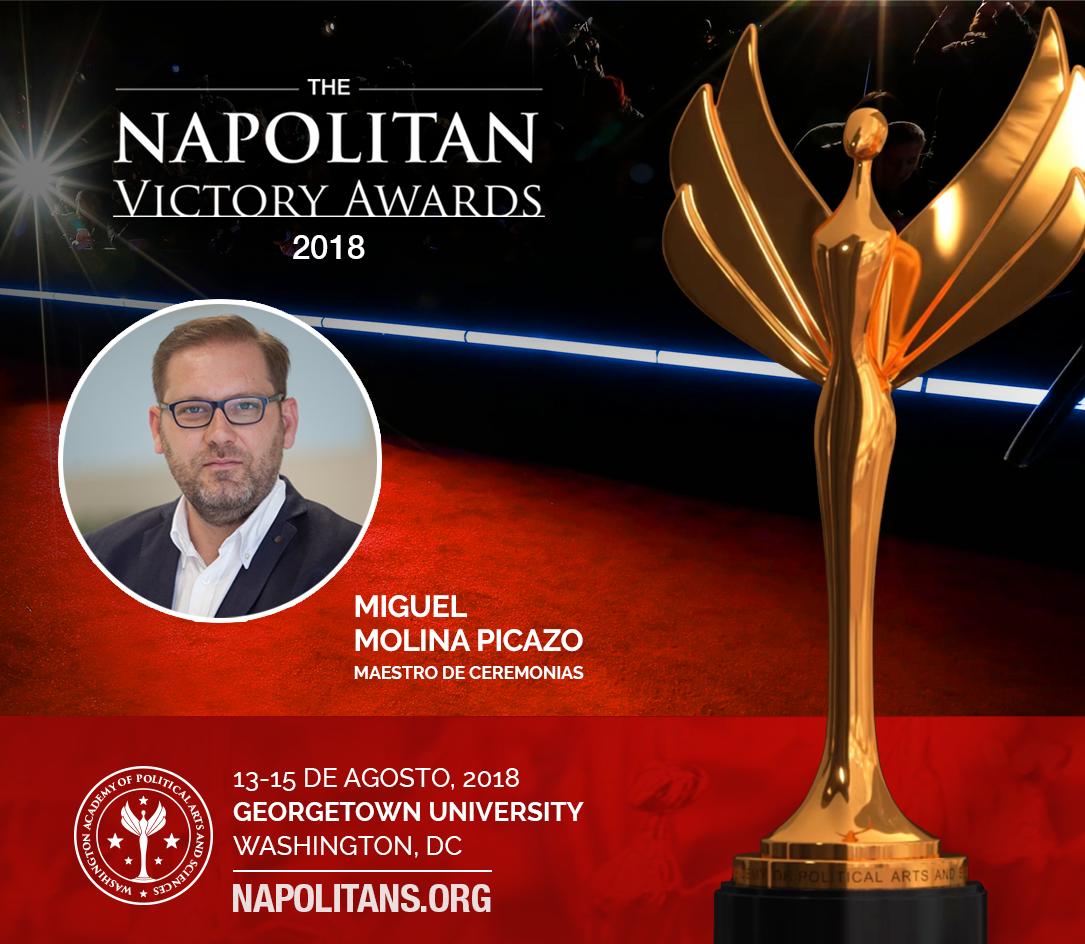 Miguel Molina Picazo será el Maestro de Ceremonias de los Napolitans 2018